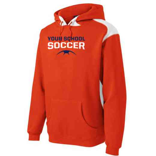 Soccer Youth Heavyweight Contrast Hooded Sweatshirt