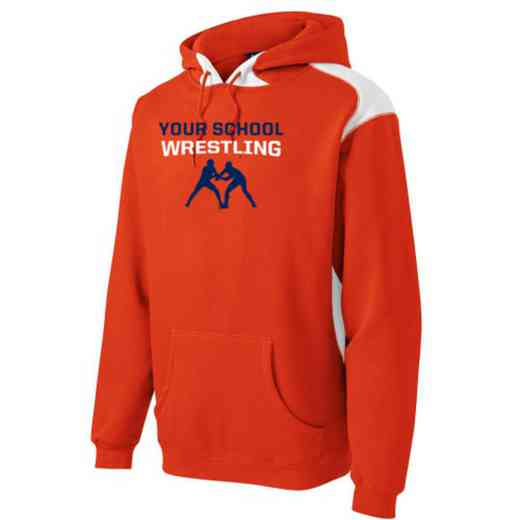 Wrestling Youth Heavyweight Contrast Hooded Sweatshirt