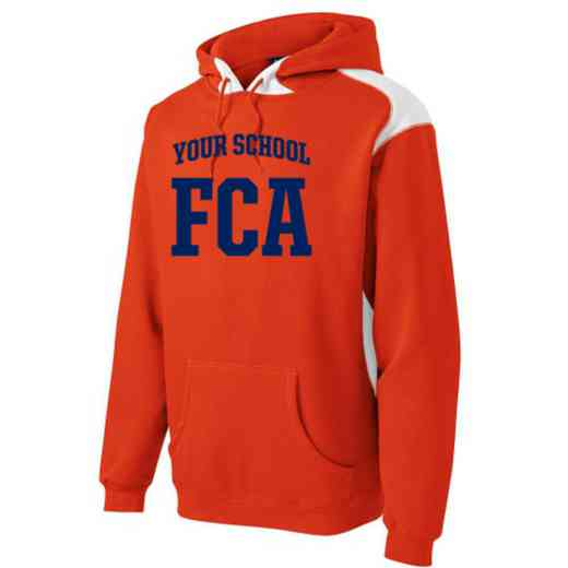 FCA Youth Heavyweight Contrast Hooded Sweatshirt