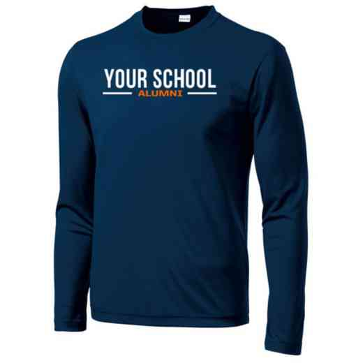 Alumni Sport-Tek Youth Long Sleeve Competitor T-shirt