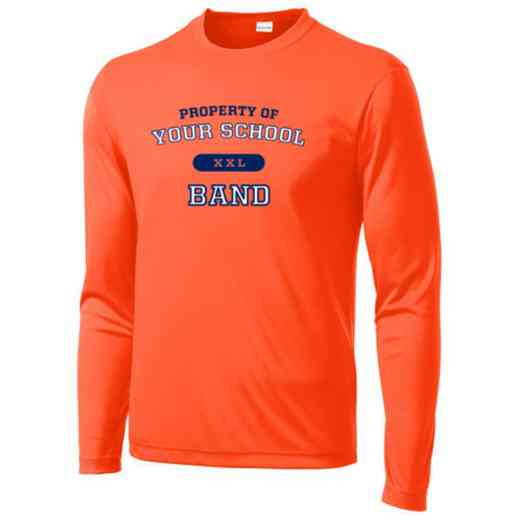 Band Sport-Tek Youth Long Sleeve Competitor T-shirt