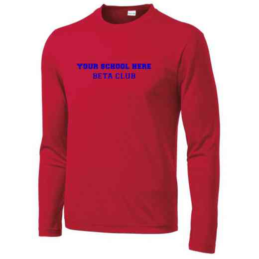 Beta Club Sport-Tek Youth Long Sleeve Competitor T-shirt