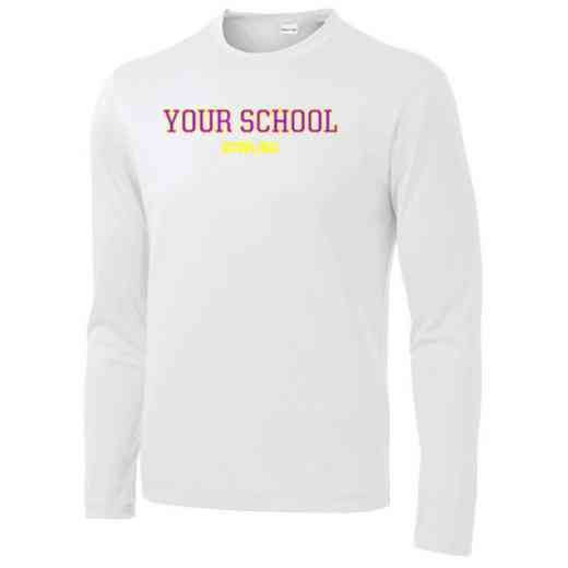Bowling Sport-Tek Youth Long Sleeve Competitor T-shirt