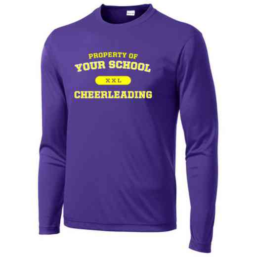Cheerleading Sport-Tek Youth Long Sleeve Competitor T-shirt