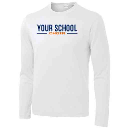 Choir Sport-Tek Youth Long Sleeve Competitor T-shirt