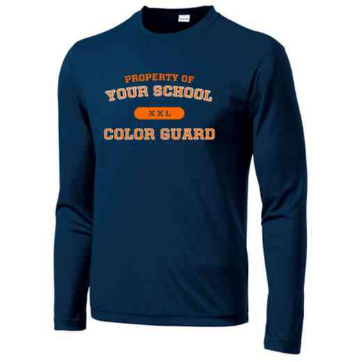 Color Guard Sport-Tek Youth Long Sleeve Competitor T-shirt