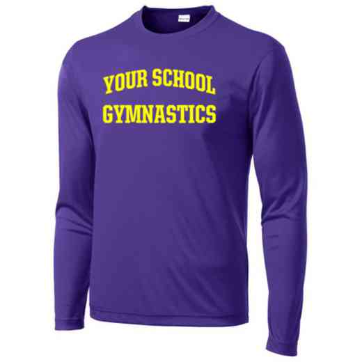 Gymnastics Sport-Tek Youth Long Sleeve Competitor T-shirt