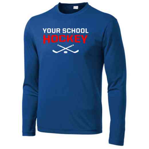 Hockey Sport-Tek Youth Long Sleeve Competitor T-shirt