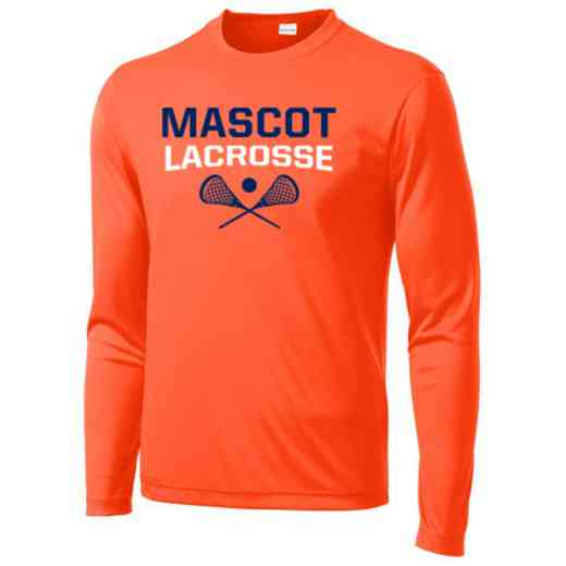 Lacrosse Sport-Tek Youth Long Sleeve Competitor T-shirt