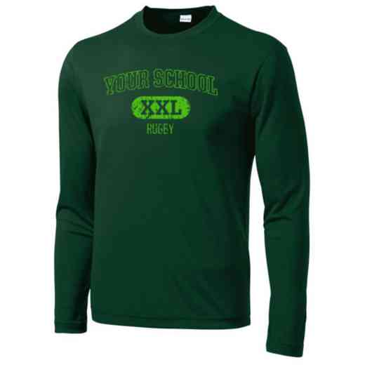 Rugby Sport-Tek Youth Long Sleeve Competitor T-shirt