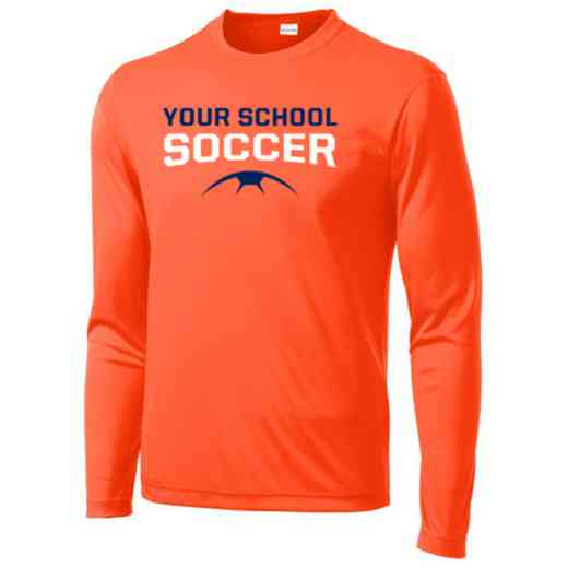 Soccer Sport-Tek Youth Long Sleeve Competitor T-shirt