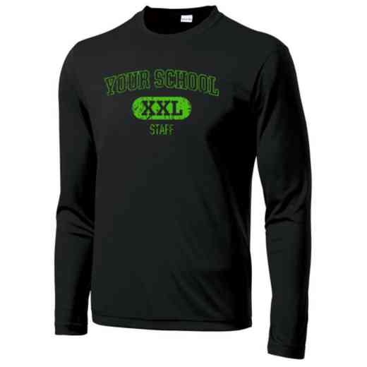 Staff Sport-Tek Youth Long Sleeve Competitor T-shirt