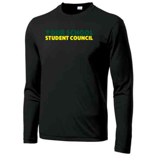 Student Council Sport-Tek Youth Long Sleeve Competitor T-shirt