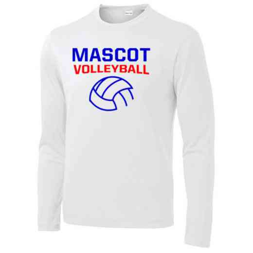 Volleyball  Sport-Tek Youth Long Sleeve Competitor T-shirt