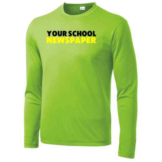 Newspaper Sport-Tek Youth Long Sleeve Competitor T-shirt