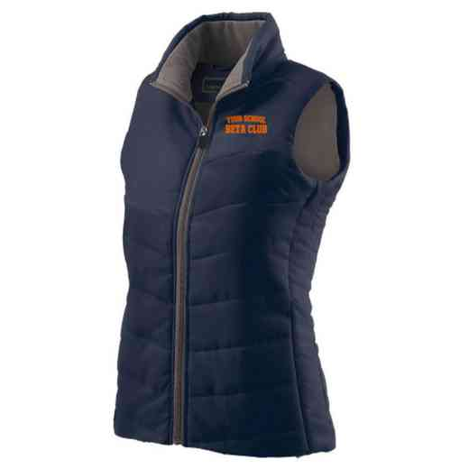 Beta Club Embroidered Womens Admire Vest