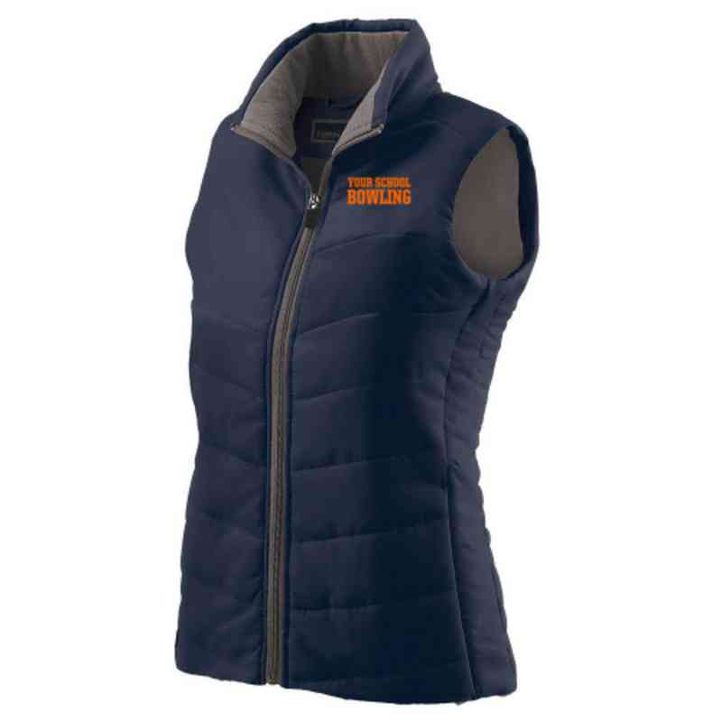 Bowling Embroidered Womens Admire Vest