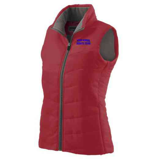 Debate Team Embroidered Womens Admire Vest