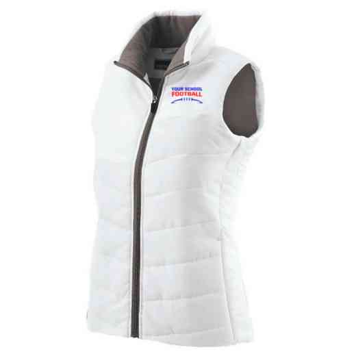 Football Embroidered Womens Admire Vest
