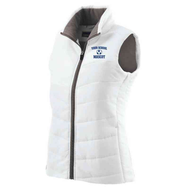 Soccer Embroidered Womens Admire Vest