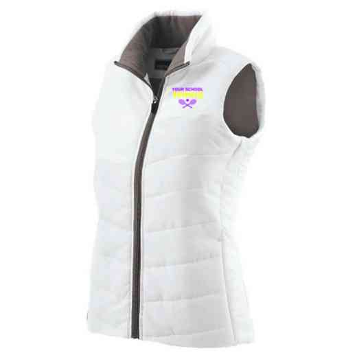 Tennis Embroidered Womens Admire Vest