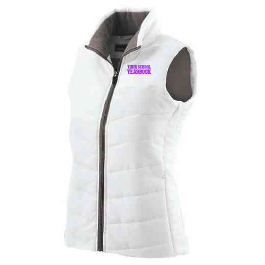 Yearbook Embroidered Womens Admire Vest