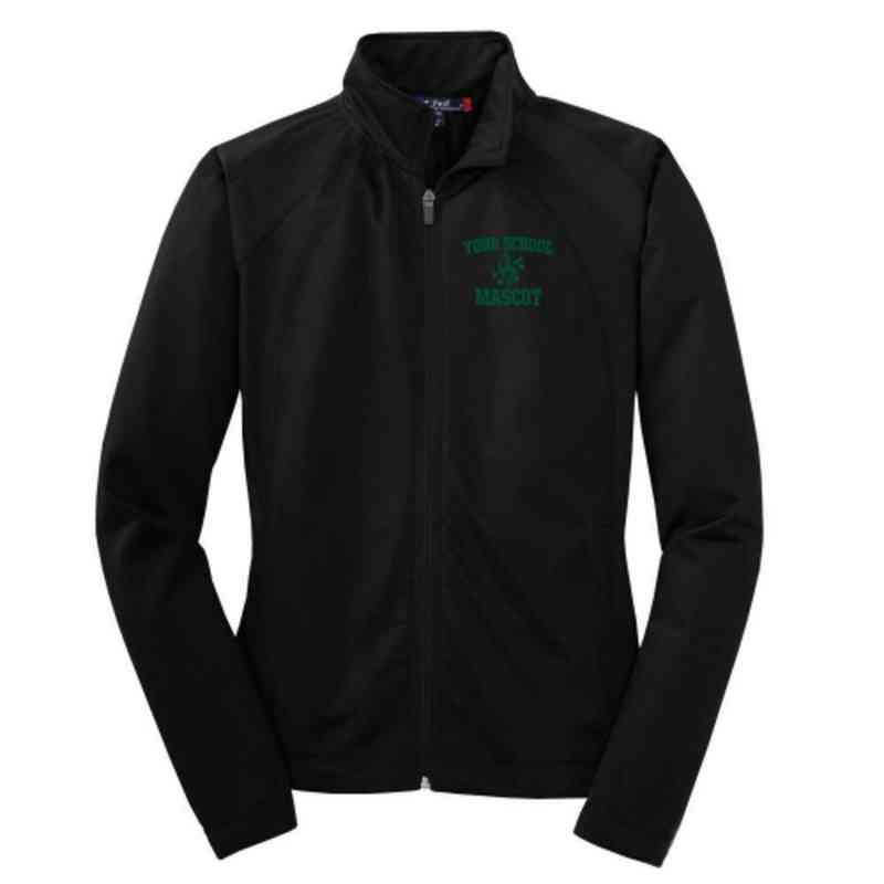 Choir Embroidered Womens Tricot Track Jacket
