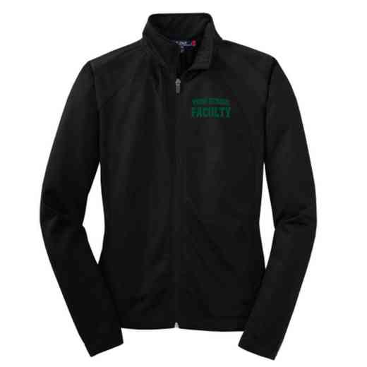Faculty Embroidered Womens Tricot Track Jacket