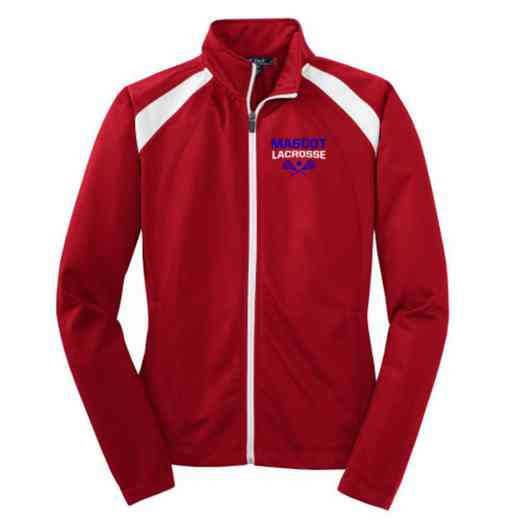 Lacrosse Embroidered Womens Tricot Track Jacket