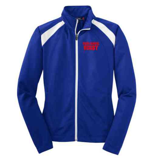 Rugby Embroidered Womens Tricot Track Jacket