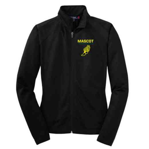 Track and Field Embroidered Womens Tricot Track Jacket