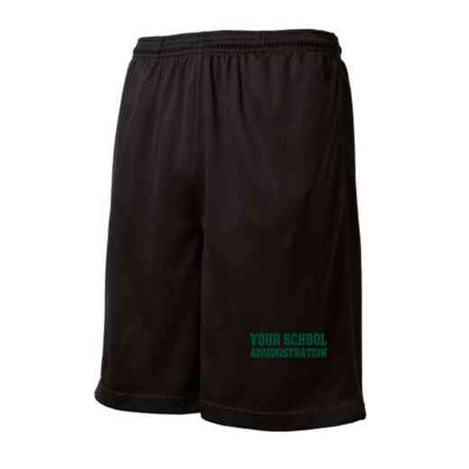 Administration Embroidered Sport-Tek 9 inch Mesh Pocket Short