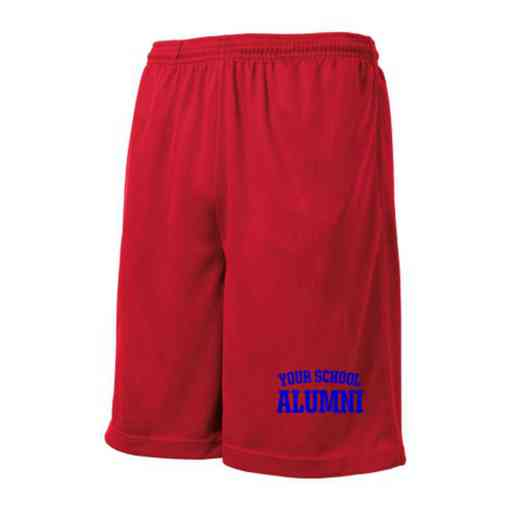 Alumni Embroidered Sport-Tek 9 inch Mesh Pocket Short