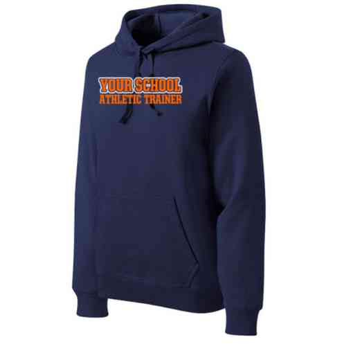 Athletic Trainer Heavyweight Sport-Tek Adult Hooded Sweatshirt