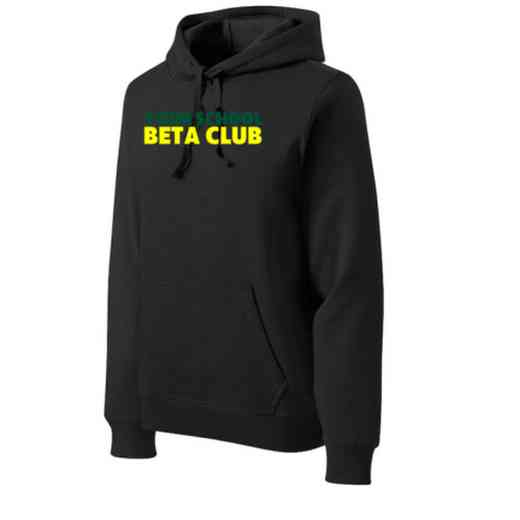Beta Club Heavyweight Sport-Tek Adult Hooded Sweatshirt