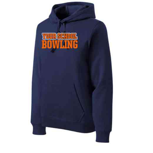 Bowling Heavyweight Sport-Tek Adult Hooded Sweatshirt