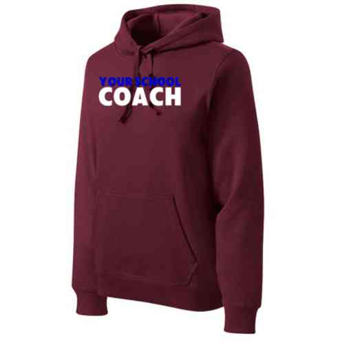 Coach Heavyweight Sport-Tek Adult Hooded Sweatshirt
