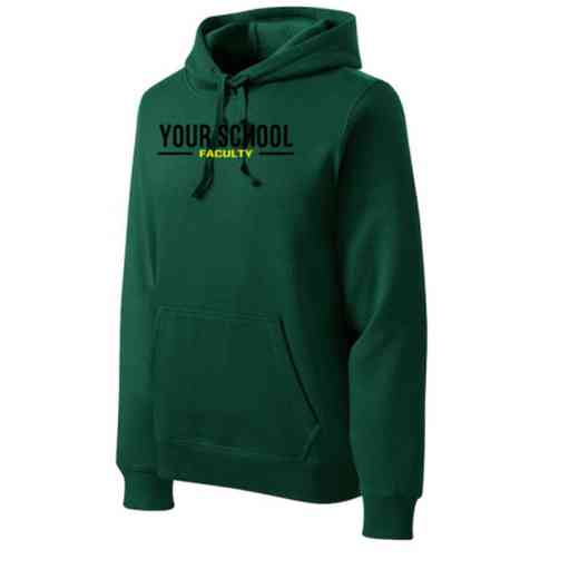 Faculty Heavyweight Sport-Tek Adult Hooded Sweatshirt