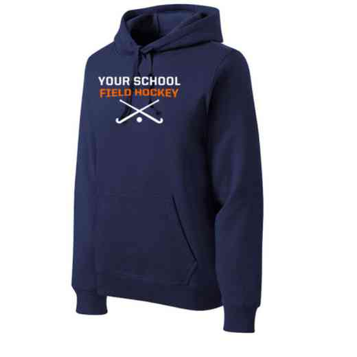Field Hockey Heavyweight Sport-Tek Adult Hooded Sweatshirt