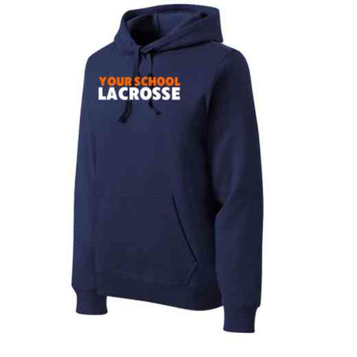 Lacrosse Heavyweight Sport-Tek Adult Hooded Sweatshirt