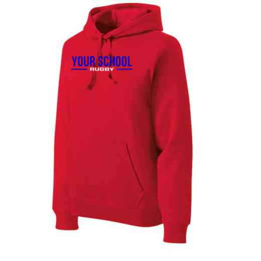Rugby Heavyweight Sport-Tek Adult Hooded Sweatshirt