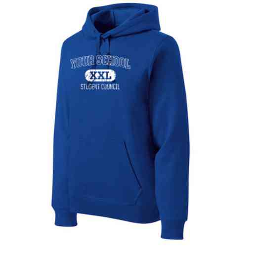 Student Council Heavyweight Sport-Tek Adult Hooded Sweatshirt