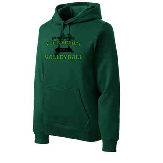 Volleyball  Heavyweight Sport-Tek Adult Hooded Sweatshirt