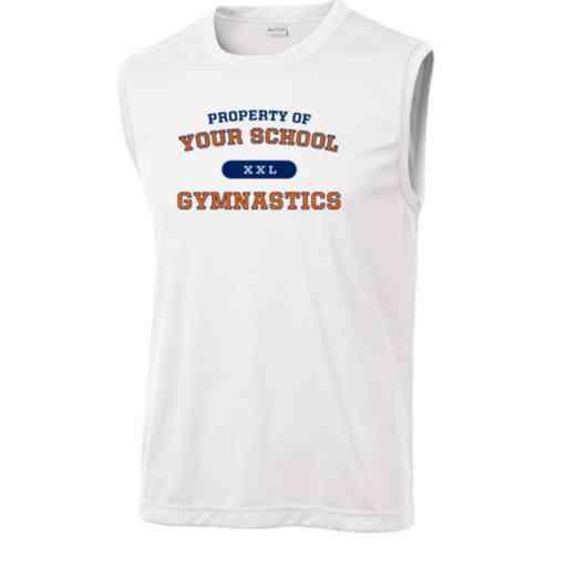 Gymnastics Sport-Tek Sleeveless Competitor T-shirt