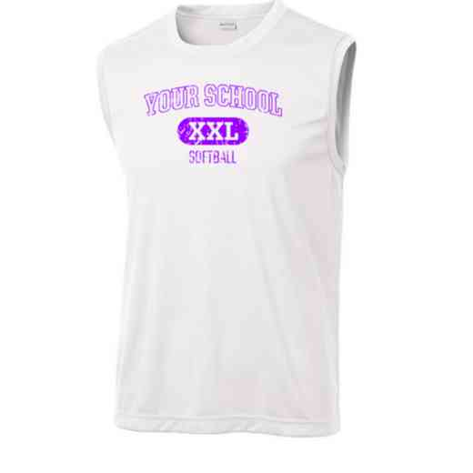 Softball Sport-Tek Sleeveless Competitor T-shirt