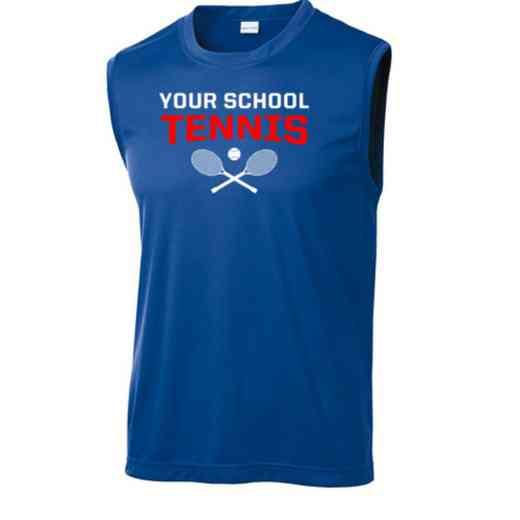 Tennis Sport-Tek Sleeveless Competitor T-shirt