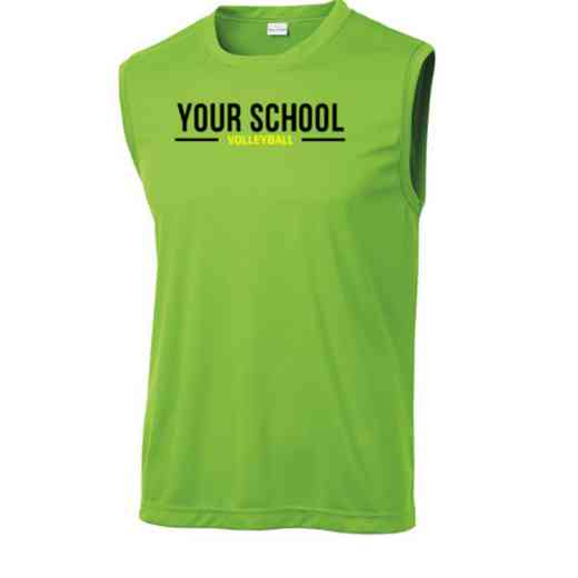 Volleyball  Sport-Tek Sleeveless Competitor T-shirt