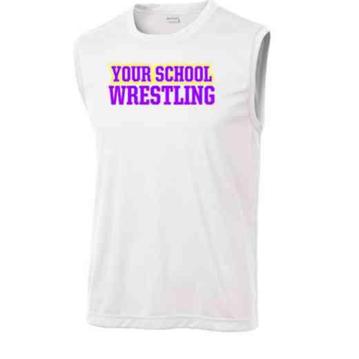 Wrestling Sport-Tek Sleeveless Competitor T-shirt