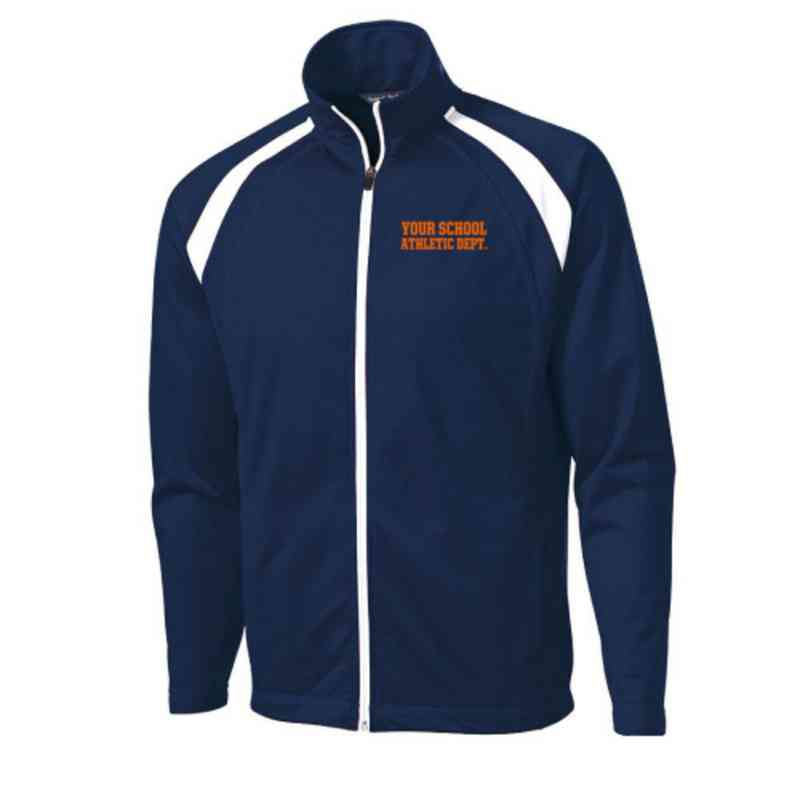 Men's Athletic Department Embroidered Tricot Track Jacket