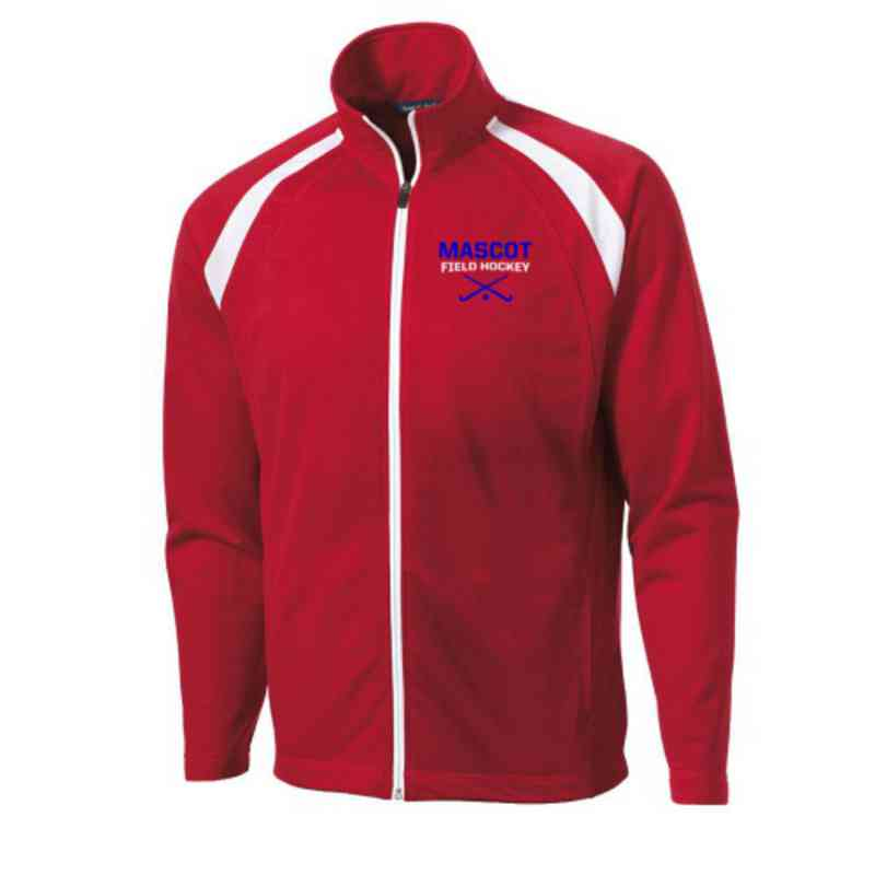 Men's Field Hockey Embroidered Tricot Track Jacket